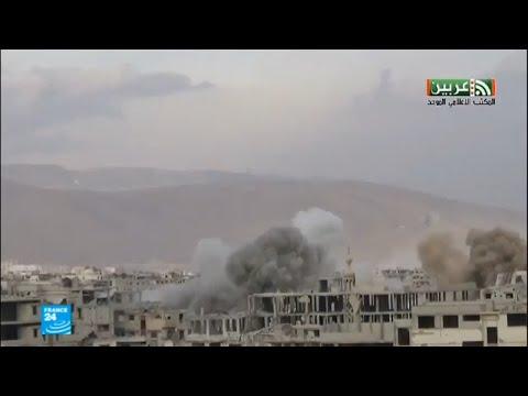 شاهد الوضع في سورية بين المساعي الدبلوماسية والمعارك الميدانية