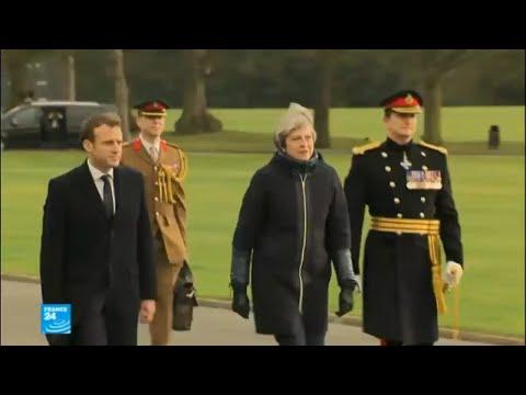 بالفيديو توقيع معاهدة بين فرنسا وبريطانيا
