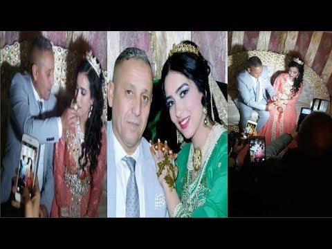 شاهد  فنان شعبي مغربي يتزوج للمرة الثانية بفتاة في عمر ابنته