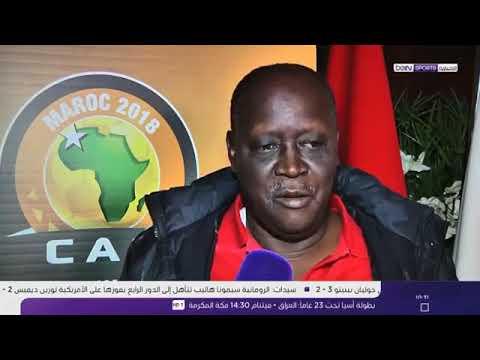 شاهد استعدادات المنتخب السوداني لمواجهة نظيره المغربي