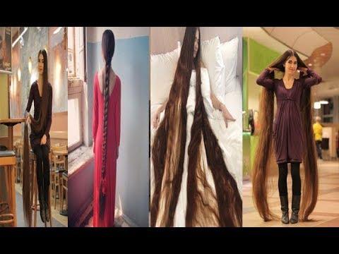 وصفة صاحبة أطول شعر في العالم
