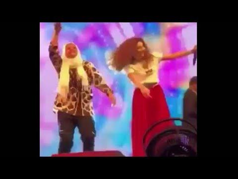 شاهد فتاة تعلم ميريام فارس الرقص السعودي