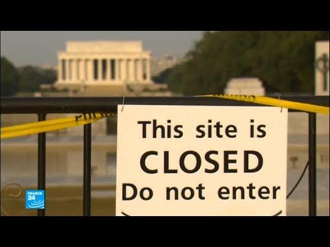 شاهد مؤسسات الحكومة الأميركية غير الضرورية مغلقة
