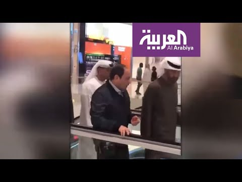 شاهد لقاء ولي عهد أبوظبي والرئيس المصري يحظى بتعليقات عديدة