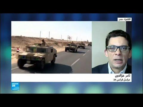 شاهد حصيلة العملية الشاملة في سيناء