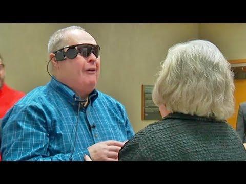 شاهد أعمى يرى زوجته لأول مرة شاهد ماذا حدث