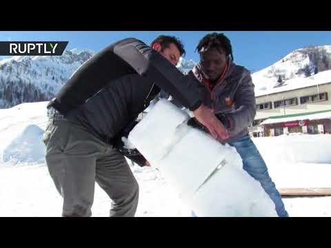 شاهد فرص عمل فريدة في جبال الألب