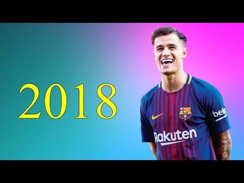 شاهد مهارات فيليبي كوتينيو مع برشلونة في عام 2018