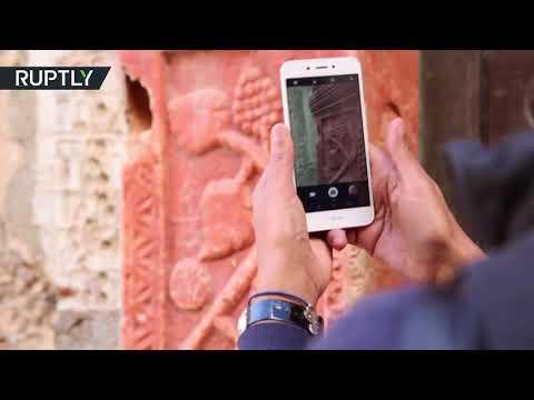 شاهد  ناشطة ليبية تطلق حملة لزيادة الوعي بالعمارة التاريخية لطرابلس