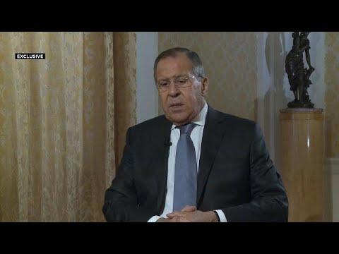 شاهد سيرغي لافروف يهاجم الولايات المتحدة بسبب سورية