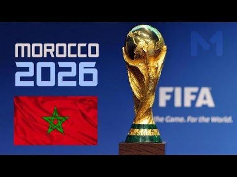 شاهد المغرب يحتج على الفيفا بسبب انحياه إلى أميركا
