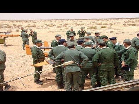 شاهد الجيش المغربي يرد على التحرّك الأخير لنظيره الجزائري على خط التماس