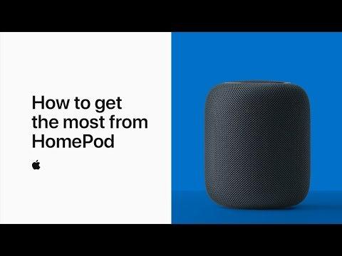 شاهد  أبل تكشف عن فيديو جديد لشرح كيفية الاستفادة من مزايا homepod