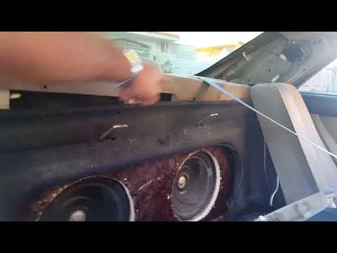 بالفيديو طريقة فك الجزء الخلفي من كامري وأي سيارة
