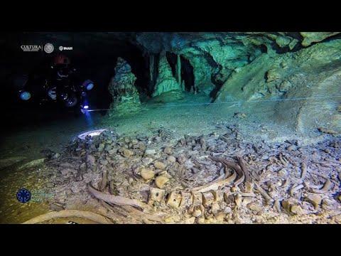 شاهد اكتشاف أكبر كهف تحت الماء في العالم