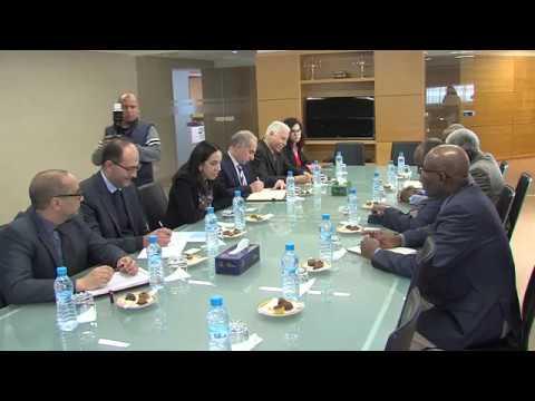 شاهد تعزيز التعاون في مجال الصيد البحري محور محادثات مغربية تشادية