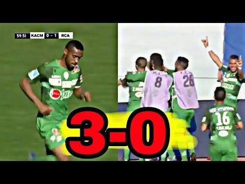 شاهد أهداف مباراة الرجاء البيضاوي والكوكب المراكشي