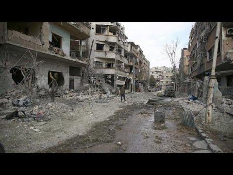 شاهد قطر تصف قصف الغوطة الشرقية بالجريمة الإنسانية