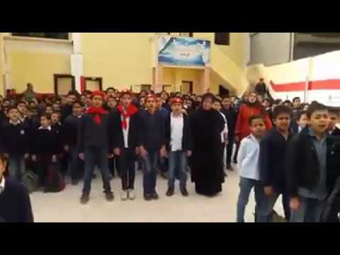 بالفيديو صيحة الصاعقة بنشيد قالوا اية