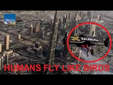 شاهد دبي تكشف عن رحلات طيران بواسطة طائرة شراعية معلقة