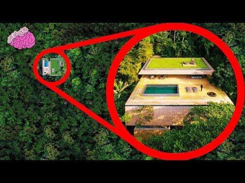 شاهد 10منازل مخفية ومذهلة لن تصدق وجودهم اطلاقا