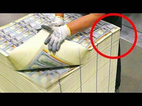 شاهد  أسرار صناعة أهم وأغلى العملات فى العالم