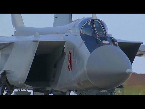 شاهد روسيا تجري تجربة ناجحة لصاروخ كينغال