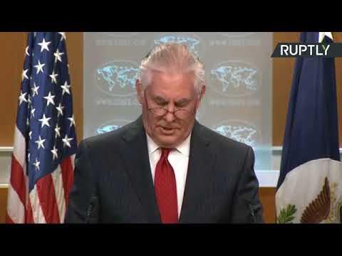 شاهد كلمة وزير الخارجية الأميركية المُقال ريكس تيلرسون