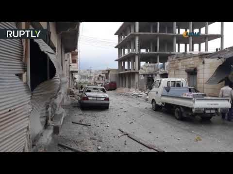 شاهد عشرات القتلى والجرحى جراء قصف تركي على عفرين