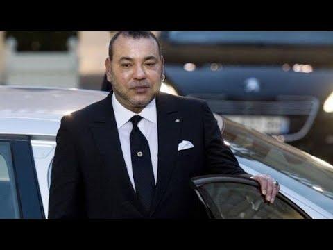شاهد صورة الملك محمد السادس يتجول في باريس