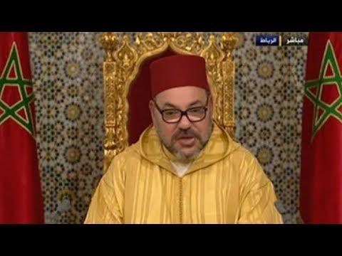 شاهد الملك محمد السادس يوبخ هؤلاء وبشكل مباشر