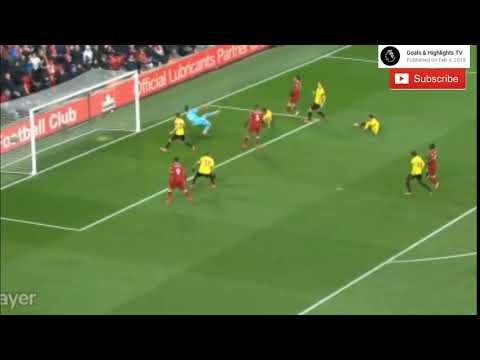 شاهد هدف محمد صلاح في مباراة ليفربول أمام واتفورد
