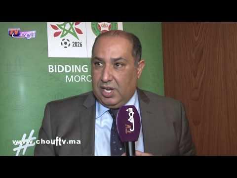 شاهد حسبان يوقّع اتفاقية مشاركة الرجاء في البطولة العربية للأندية