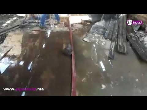 اندلاع حريق في سوق انزكان