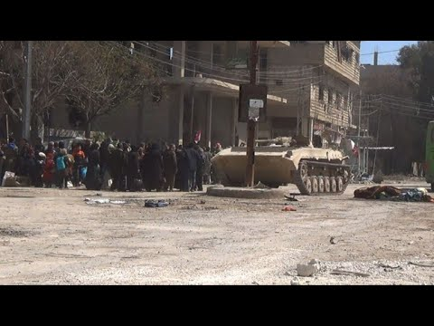 شاهد الهجمات مستمرة على جبهتين في سورية