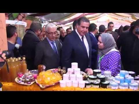 شاهد فعاليات مهرجان اللوز في مدينة تافراوت