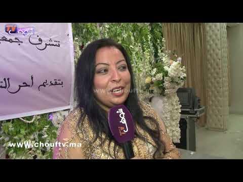 شاهد إيمان الوادي بـالتكشيطة في حفل تكريمها