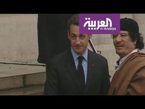 بالفيديو توقيف الرئيس الفرنسي الأسبق ساركوزي