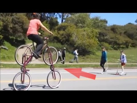 شاهد دراجة حقيقية بأربع عجلات