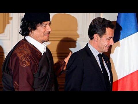 شاهد ساركوزي يتوعّد جماعة القذافي بالسحق