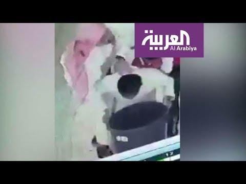 شاهد تكريم طالب سعودي أنقذ زميله