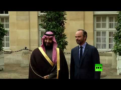 شاهدولي العهد السعودي يبدأ لقاءاته الرسمية في باريس