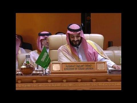 شاهد محمد بن سلمان يستقبل رؤساء الدول المشاركة
