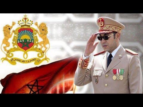 شاهد الملك السادس يعطي تعليماته للجيش المغربي
