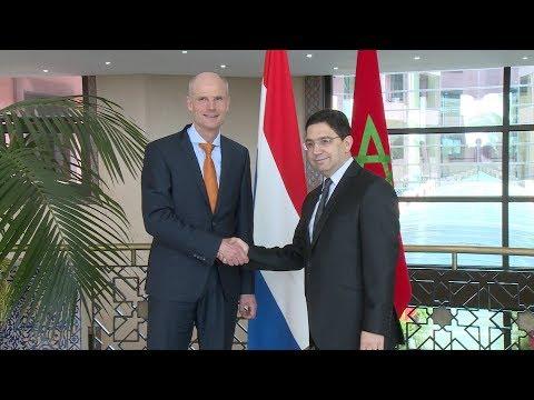 مباحثات وزير الشؤون الخارجية والتعاون الدولي السيد ناصر بوريطة ونظيره الهولندي