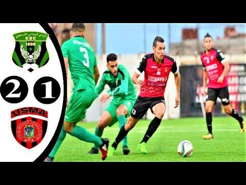أهداف مباراة شباب قسنطينة واتحاد الجزائر