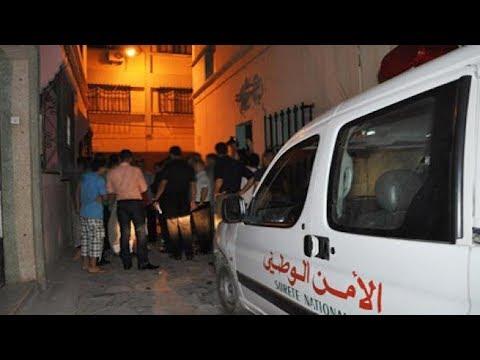 شاهداعتقال شابط شرطة ممتاز في الدار البيضاء