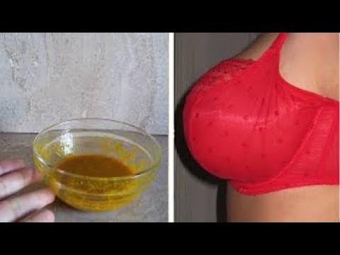 طريقة لشد الثدي وتكبيره