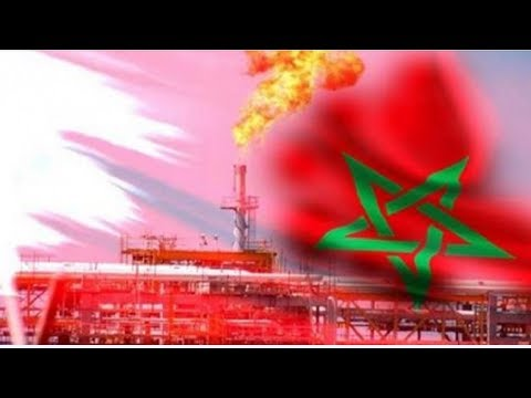 شاهد اكتشاف حقل مخزون كبير من الغاز الطبيعي في المغرب
