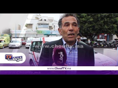 غضب مواطني المغرب بعدسقوط رافعة بناء على الأهالي